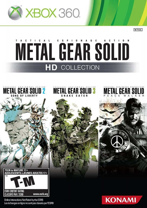 Metal Gear Solid HD Collection on X360 - Gamewise