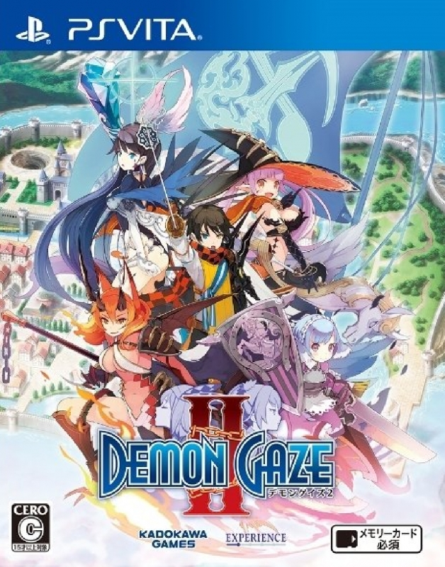 Demon Gaze 2 on PSV - Gamewise