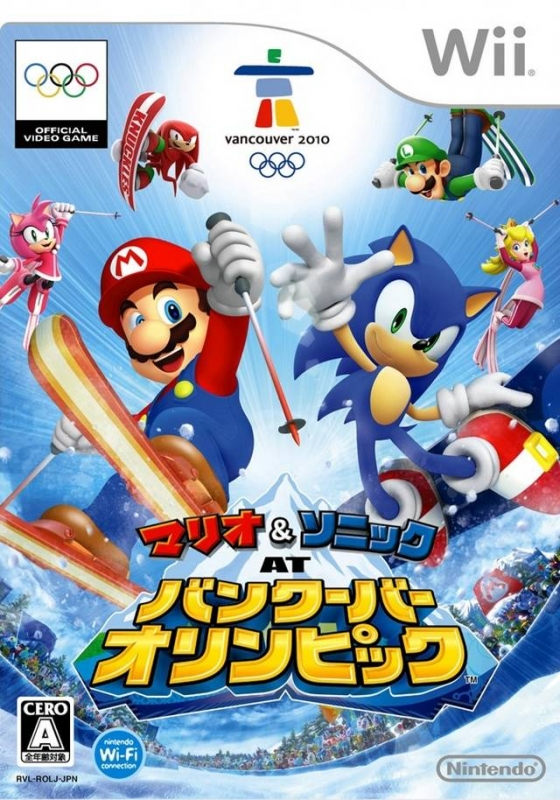 Mario & Sonic at the Olympic Winter Games on Wii - Gamewise