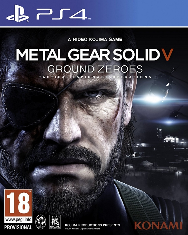 Metal Gear Solid: Ground Zeroes For PlayStation 4