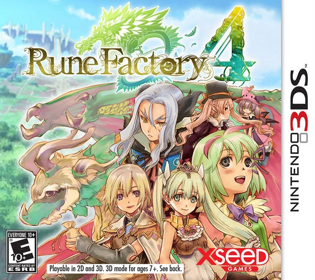 Rune Factory 4: A Fantasy Harvest Moon Wiki - Gamewise