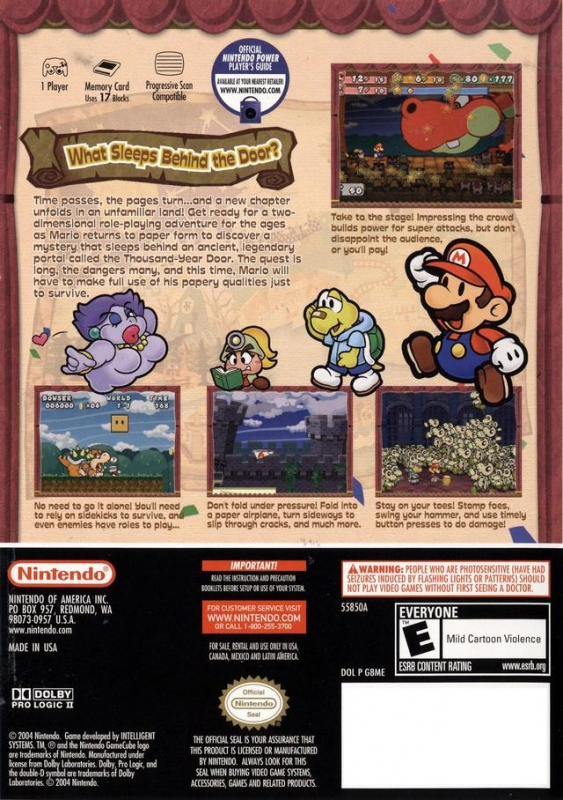 Paper Mario: The Thousand Year Door for GameCube - Sales, Wiki