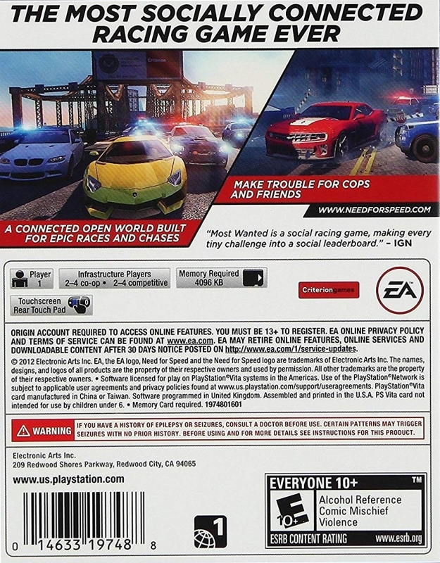 Need for Speed: Most Wanted (a Criterion Game) for