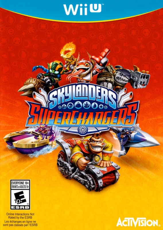 Skylanders: SuperChargers on WiiU - Gamewise