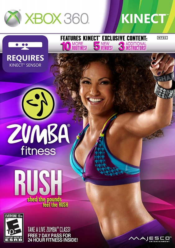 Zumba Fitness Rush on X360 - Gamewise