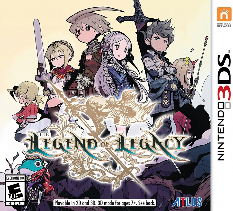 The Legend of Legacy [Gamewise]