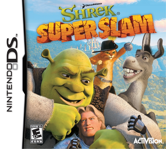 Shrek SuperSlam on DS - Gamewise