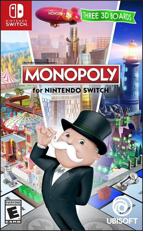 Monopoly for Nintendo Switch for NS Walkthrough, FAQs and Guide on Gamewise.co