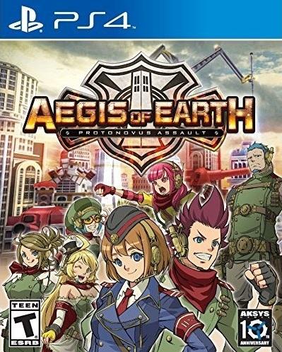 Aegis of Earth: Protonovus Assault on PS4 - Gamewise