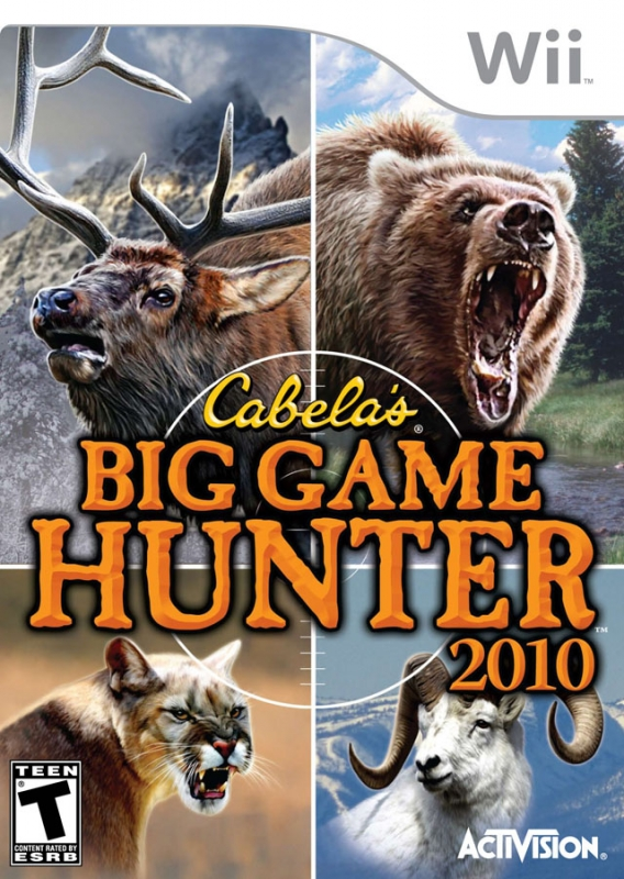 Gamewise Cabela's Big Game Hunter 2010 Wiki Guide, Walkthrough and Cheats