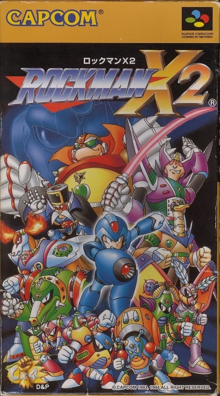 Mega Man X2 on SNES - Gamewise
