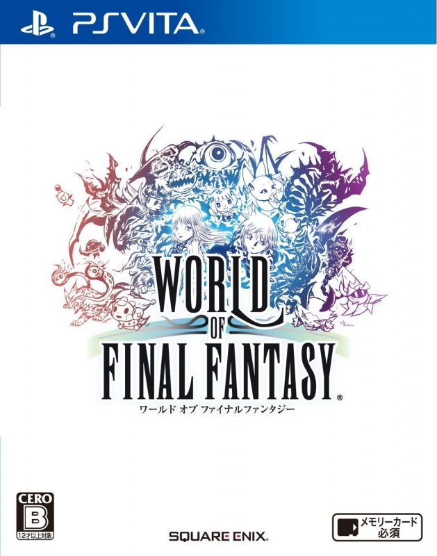 World of Final Fantasy on PSV - Gamewise