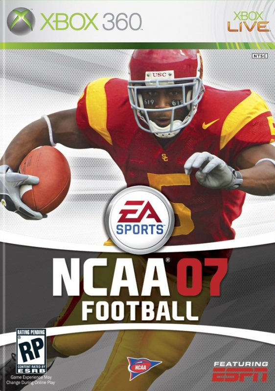 NCAA Football 07 on X360 - Gamewise