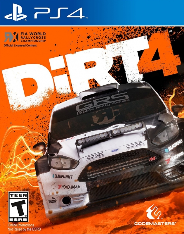 DiRT 4 on PS4 - Gamewise