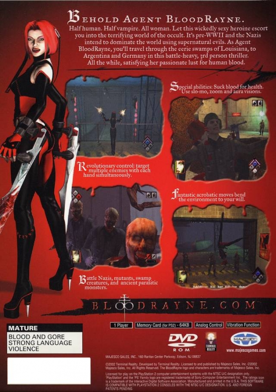 Bloodrayne For Playstation 2 Sales Wiki Release Dates Review