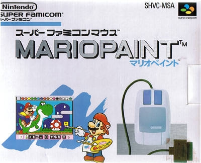 Mario Paint on SNES - Gamewise