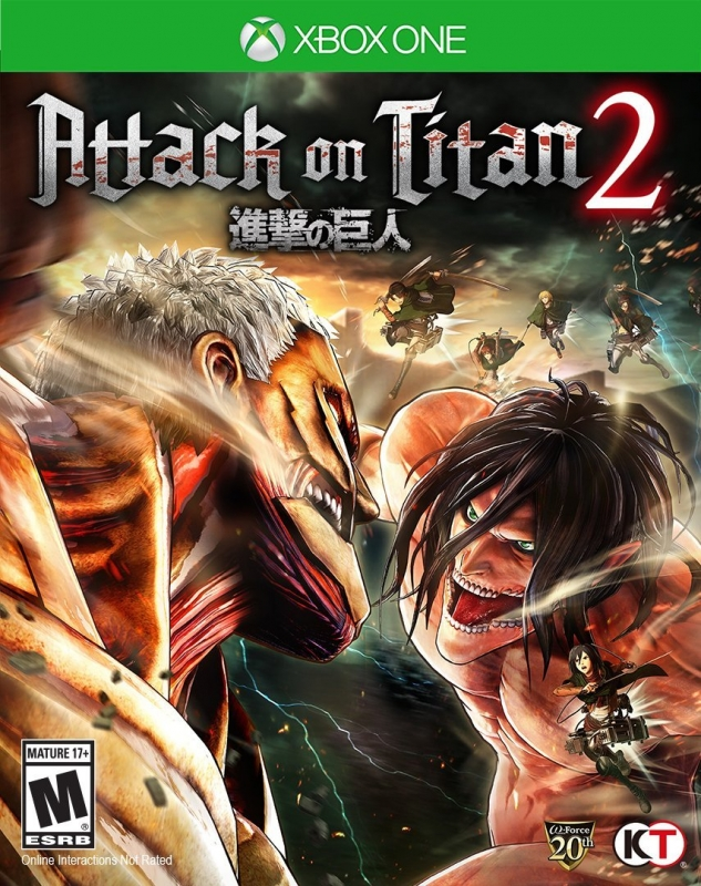 Attack on Titan 2 on XOne - Gamewise
