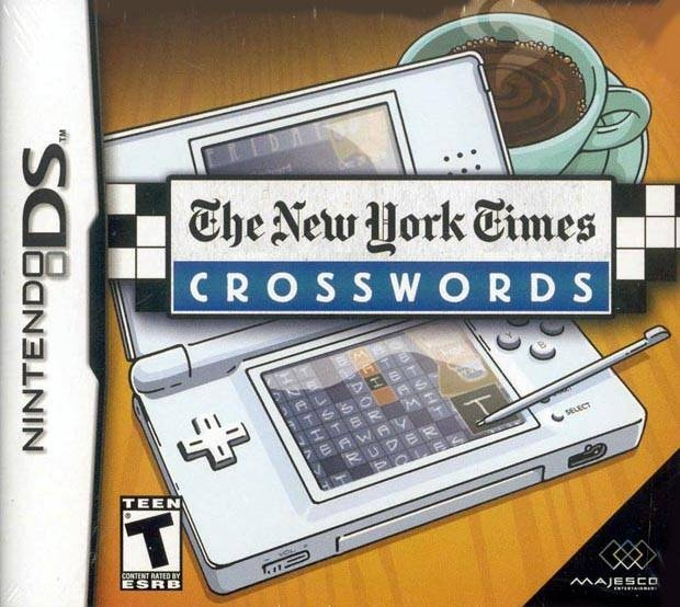 The New York Times Crosswords on DS - Gamewise