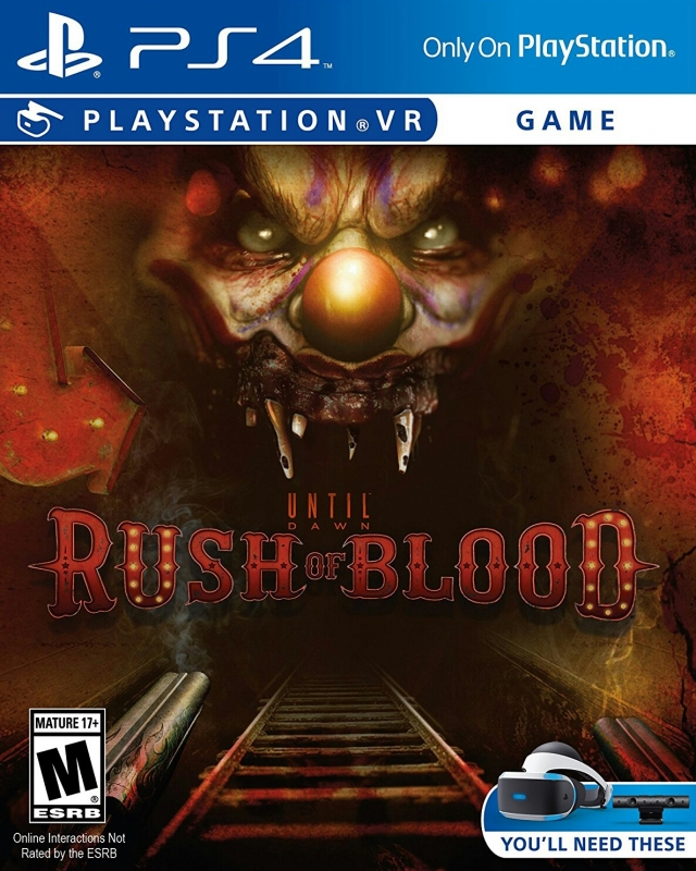 Until Dawn: Rush of Blood [Gamewise]
