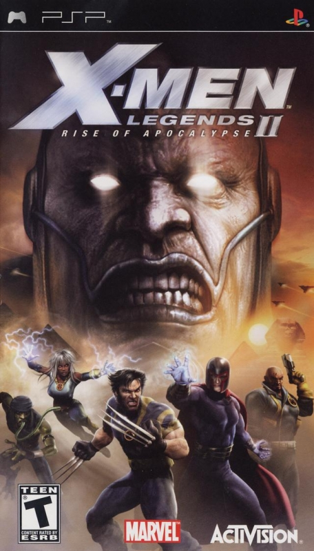 X-Men Legends II: Rise of Apocalypse on PSP - Gamewise