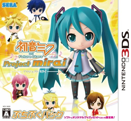 Hatsune Miku and Future Stars: Project Mirai [Gamewise]