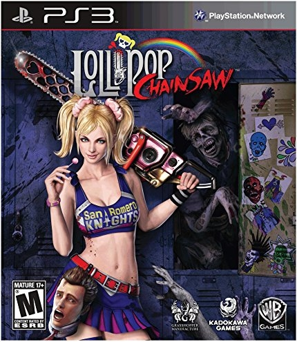Lollipop Chainsaw Release Date - PS3