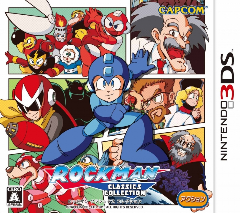 Mega Man Legacy Collection on 3DS - Gamewise
