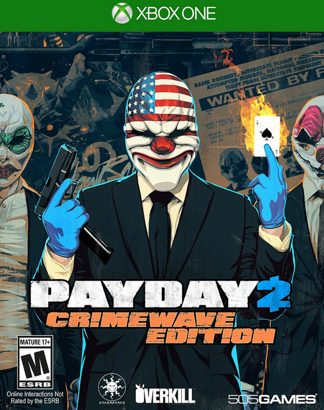 Payday 2: Crimewave Edition on XOne - Gamewise