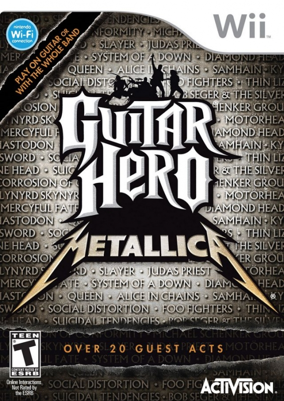 Guitar Hero: Metallica for Wii Walkthrough, FAQs and Guide on Gamewise.co
