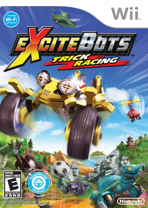 Gamewise ExciteBots: Trick Racing Wiki Guide, Walkthrough and Cheats