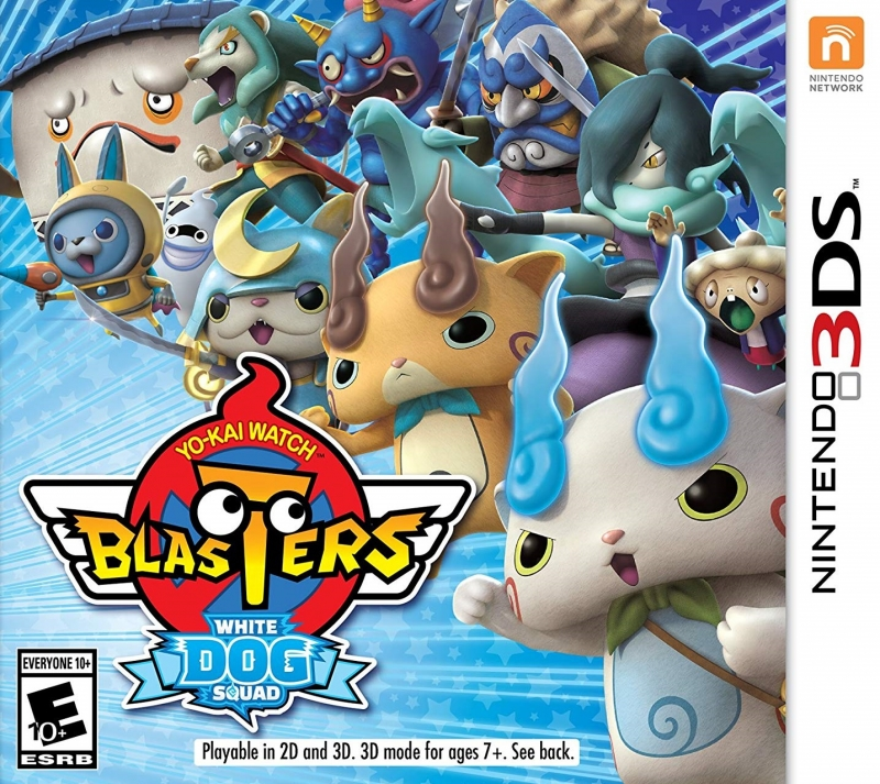 Yo-Kai Watch Busters: Red Cat Team / White Dog Squad for 3DS Walkthrough, FAQs and Guide on Gamewise.co
