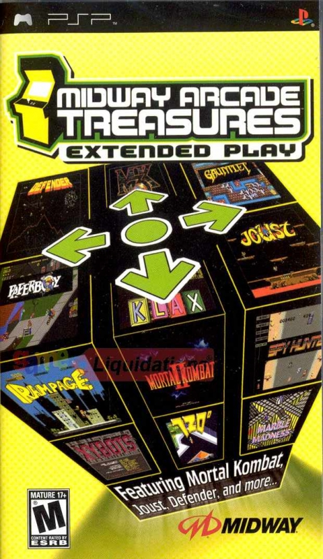 Midway Arcade Treasures: Extended Play Wiki - Gamewise