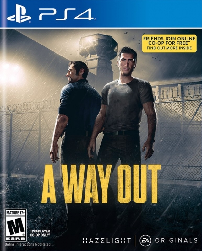 A Way Out for PS4 Walkthrough, FAQs and Guide on Gamewise.co