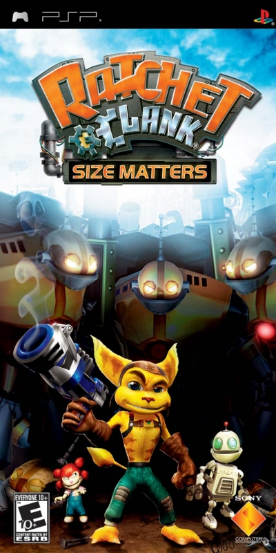 Ratchet & Clank: Size Matters on PSP - Gamewise