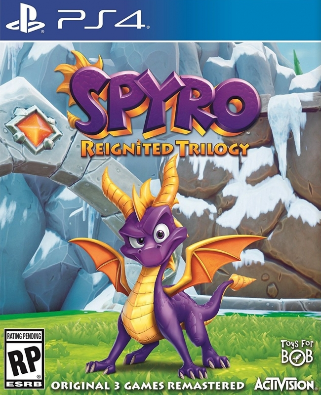 Spyro Reignited Trilogy on PS4 - Gamewise