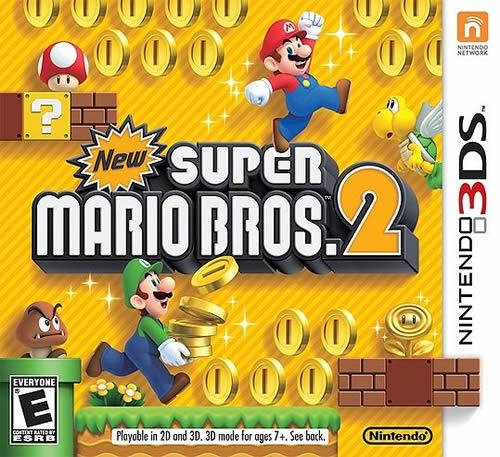 New Super Mario Bros. 2 Release Date - 3DS