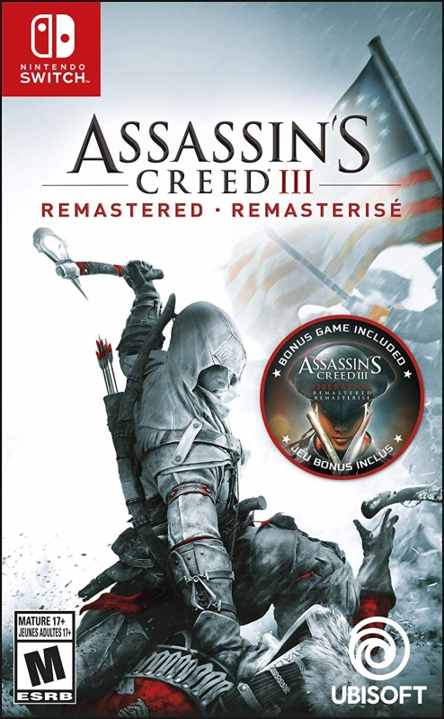 Assassin S Creed Iii Remastered For Nintendo Switch Sales Wiki