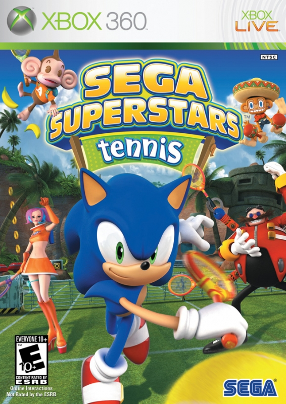 Sega Superstars Tennis for X360 Walkthrough, FAQs and Guide on Gamewise.co