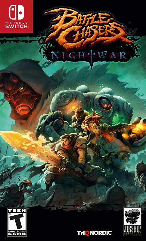 Battle Chasers: Nightwar [Gamewise]