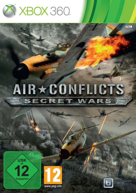 Air Conflicts: Secret Wars for X360 Walkthrough, FAQs and Guide on Gamewise.co
