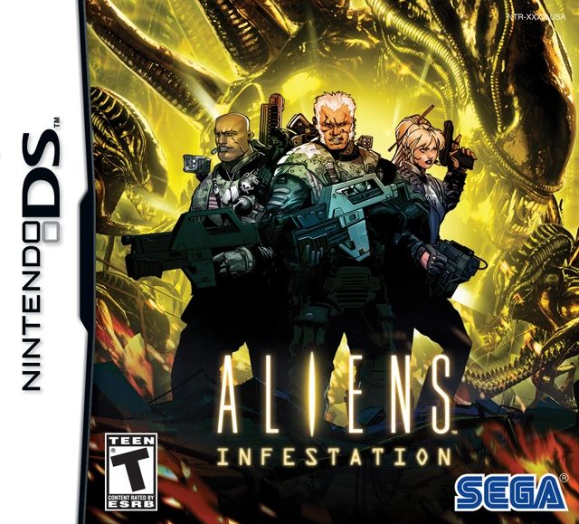 Aliens: Infestation on DS - Gamewise