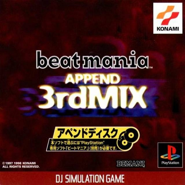 BeatMania Append 3rdMix on PS - Gamewise