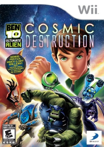 Ben 10 Ultimate Alien: Cosmic Destruction on Wii - Gamewise