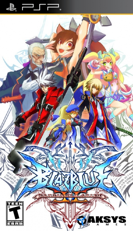 BlazBlue: Continuum Shift II on PSP - Gamewise