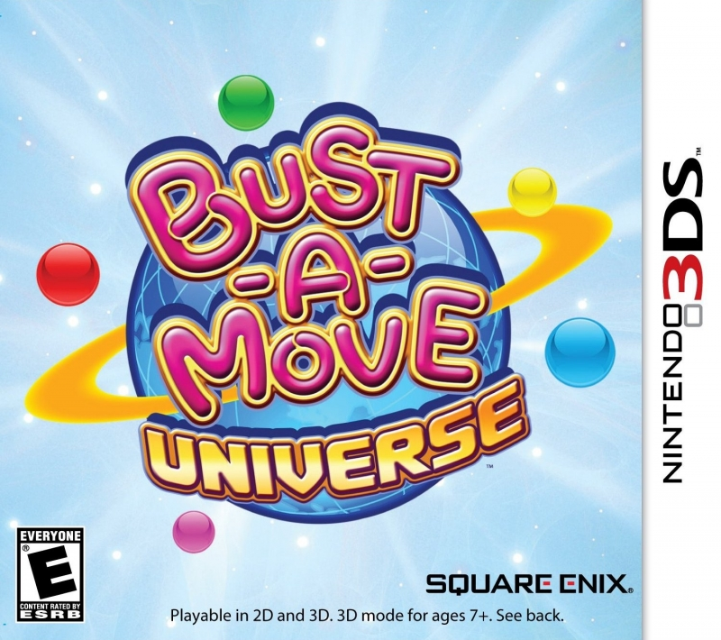 Bust-A-Move Universe on 3DS - Gamewise