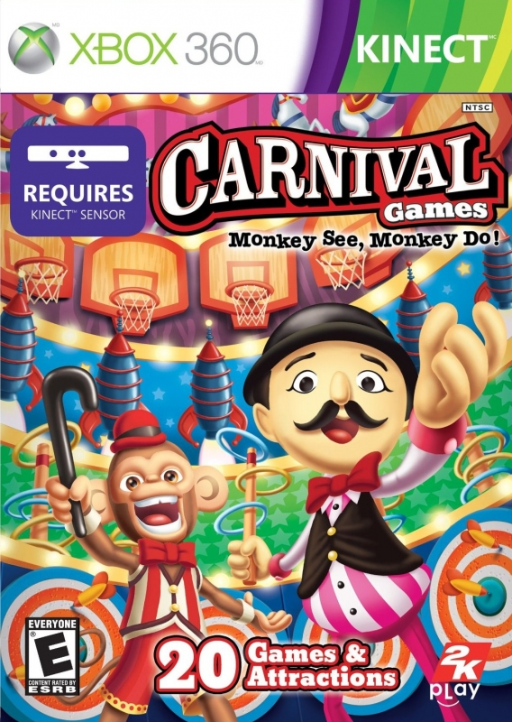 Gamewise Carnival Games: Monkey See, Monkey Do! Wiki Guide, Walkthrough and Cheats