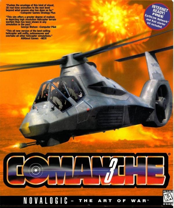 Comanche 3 for Microsoft Windows - Sales, Wiki, Release