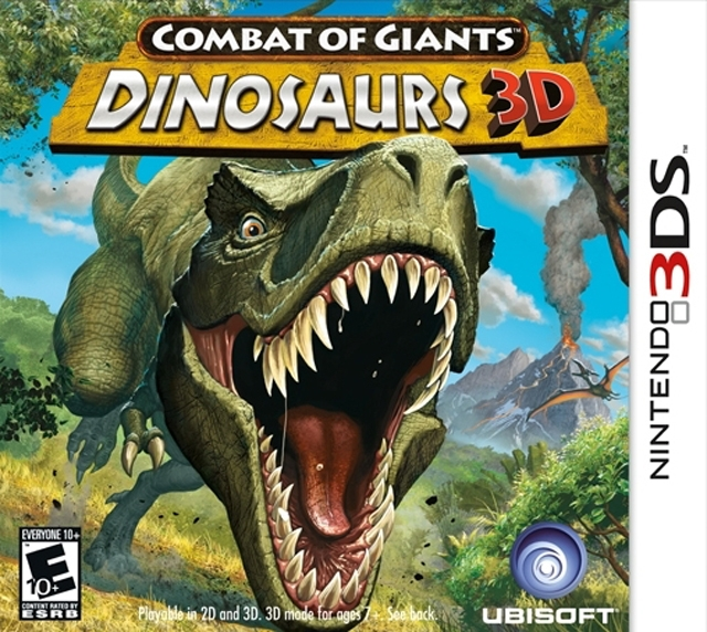 Combat of Giants: Dinosaurs 3D on 3DS - Gamewise