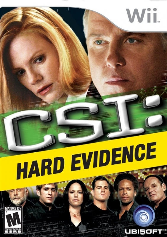 CSI: Hard Evidence on Wii - Gamewise