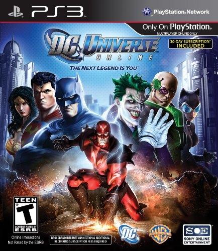 DC Universe Online on PS3 - Gamewise